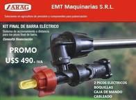 Kit Picos Eléctricos Final De Barra Arag Selectron