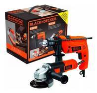 Kit Taladro Y Amoladora Black Y Decker