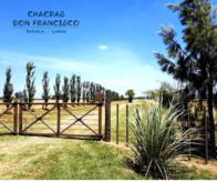 """Lobos, Zapiola """"chacras Don Francisco"""" 7000 A 14.000M2"""