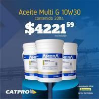 Aceite Ambra Multi G 10W30