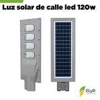 Luz De Calle Premium Solar 120W Led