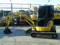 Mini Excav. Pc35 6200 Horas Año 2009