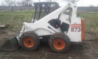 Minicargadora Bobcat 873