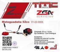 Motoguadaña Tmc 52Cc