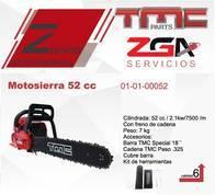 Motosierra Tmc 52Cc