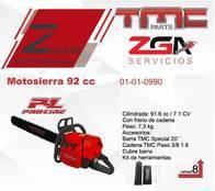 Motosierra Tmc 92Cc