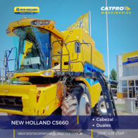 New Holland Cs660 Con Cabezal