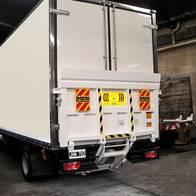 Pala Hidráulica Plataforma P/camión 500 Kg