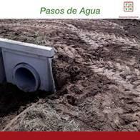 Paso De Agua 6,00 Mts Alcantarilla Circular 0,60 X 1,25