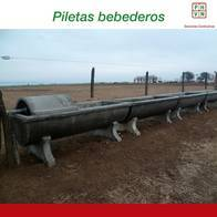 Piletas Bebederos 500 Lts