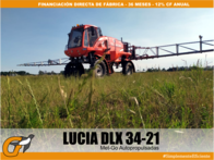 Pulverizadora/fumigadora Lucia Dlx 3400 Lts