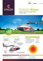 Radiador Kroms 1,5 Biogas Epacor
