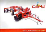 Rastra De Discos Desencontrada Corti Serie 2000 K90