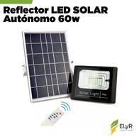 Reflector Led Solar Autónomo 60W