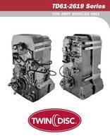 Repuesto De Transmisión Twin Disc Td61-2619