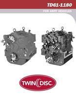 Repuesto De Transmisión Twin Disc Td61-1180