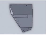 Repuesto Para Cabezal Blade Protector Complemento Izq.