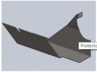 Repuesto Para Cabezal Blade Protector Cardan