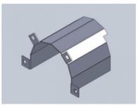 Repuesto Para Cabezal Blade Protector Cardan Derecho