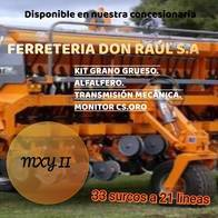 Sembradora Agrometal Mxy Ii 33 Surcos A 21 Lineas