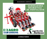 Sembradora Neumática De Hortalizas Agrícola Italiana