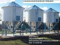 Silo Limit 21 Metálico Para Fertilizante