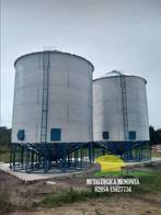 Silos Aéreos Reforzados Metalurgica Menonita 60Tn