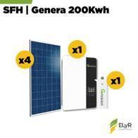 Sistema Fotovoltaico Híbrido ELyR 200 Kwh