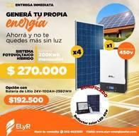 Sistema Fotovoltaico Hibrido