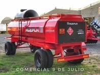 Tanque Acepla 5000Lts. Con Baulera Trasera - 9 De Julio