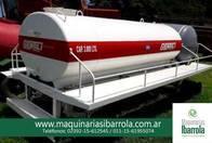 Tanques De Chapa Móvil Común Gentili 2 Ejes 3000Lts.