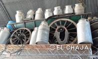 Tarros Lecheros De Aluminio De 50 Litros