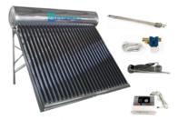 Termotanque Solar E-Cológica 200Lt Acero C/contro Elect