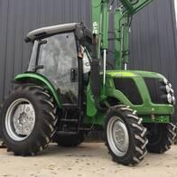 Tractor Chery 60 Hp Tipo John Deere Cabina Y Pala
