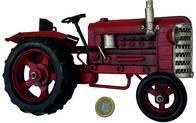 Tractor Decorativo Mitad P/colgar 22X5X12Cm Metal Repli