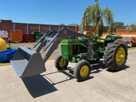 Tractor John Deere 2730 C/pala Omar Martin