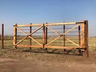 Tranquera Tirantes Reforzada Agraso Maderas