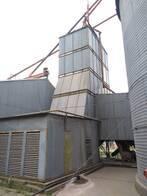 Secadora para granos 45 Ton en funcionamiento.