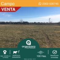Venta - Campo 100 Has - Dpto. Conhello - La Pampa