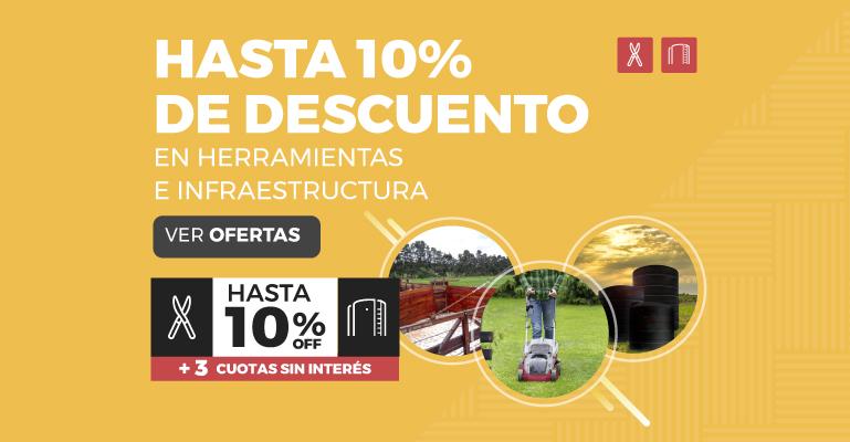 HASTA 10% DE DESCUENTO